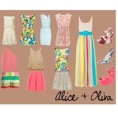Alice + olivia, created by ashlips33 on Polyvore