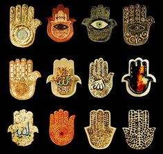 The Khamsa, @ Turkish Ceramist Canan Çelik. Loved and pinned by www.downdogboutique.com