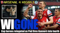 Arsenal 4 Wigan 1
