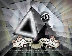 Cerveja Stillwater Sensory Series v. 1 - Lower Dens, estilo Saison / Farmhouse, produzida por Stillwater Artisanal Ales, Estados Unidos. 6% ABV de álcool.