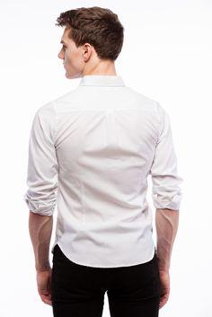 Signature Classic Ice White Oxford Shirt | Samuel James