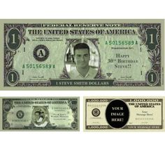 Cool templates for making fake dollar bills perfect for for Custom fake money template