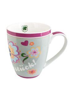 Prachtstück Henkeltasse - daraus ein Kaffee und der Tag kann nur prachtvoll werden...