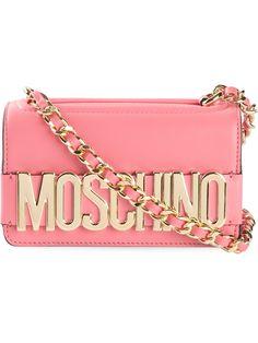 MOSCHINO Logo Crossbody Bag - Stefania Mode 2015