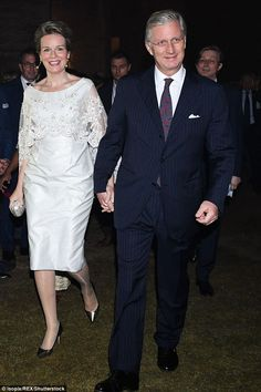 Later that nightthe couple were photographed attending an official reception and dance sh...