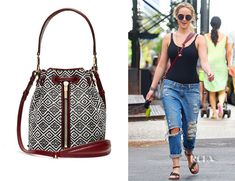 Jennifer Lawrence�s Elizabeth and James �Cynnie� Woven Mini Bucket Bag