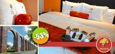 Hotel The Lit 13 en Querétaro - $699 en lugar de $1,499 por 1 Día / 1 Noche en Habitación Estándar + Desayuno a la Carta para 2 Personas Click http://cupocity.com/