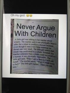 Not a prayer, but I had to pin this! I just love kids simplicity and beliefs.
