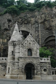 church in the Rock, Budapest.