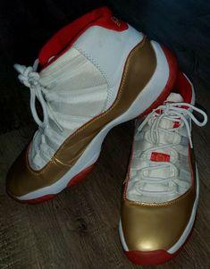 Nike Air Jordan XXXIV 34 Retro Rise Metallic GOLDEN 136046-110 Mens Size 12 #Jordan Fast Weight Loss, Air Jordans, High Top Sneakers, Nike Air, Size 12, Metallic, Fashion Tips, Fashion Trends, Retro