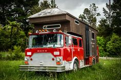 Fire Engine House Truck  Front - now this is creative!
