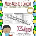 Workbook to Accompany Issac Millman's Moses Goes to a Concert, a story in the 2nd grade Houghton Mifflin Reading Basal. The workbook is aligned wit...
