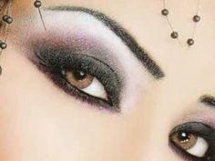 Maquillaje árabe para ojos