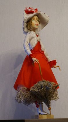 OOAK Art doll Edita