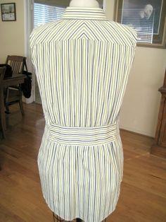Men's Stripe Shirt Refashion