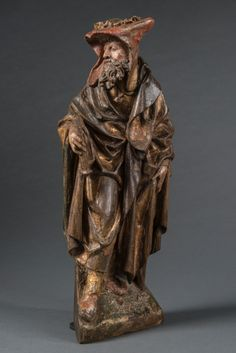 Sculpture of a soldier.  Antwerp, ca 1520