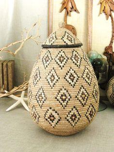 Vintage Large Zulu Wedding Basket