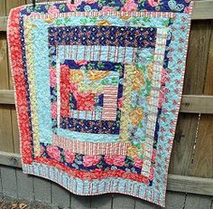 Country Cabin Lap #Quilt tutorial by John Adams from Quilt Dad