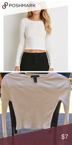NWOT Forever 21 ribbed crop shirt size M NWOT Forever 21 ribbed crop shirt size M. In perfect condition. I will post measurement later. Please ask questions. All sales are final. Thank you for your interest. Forever 21 Tops Crop Tops
