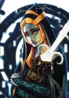 Midna, from The Legend of Zelda: Twilight Princess.
