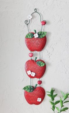 Apple Kitchen Hanging Metal Wall Decor By Collections Etc By Collections,  Http://