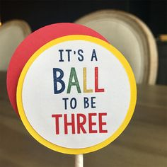 That's why these print and cut Bouncy Ball Party Decorations are the perfect theme for your little one's next party! Ball Birthday Parties, Fourth Birthday, Happy Birthday Banners, Unique Party Themes, Peach Party, Party Favor Tags, Party In A Box, Cupcake Party, Party Printables