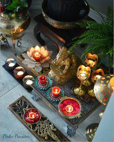 Brass Décor, Deepavalli, Diwali, Diwali Décor, Diwali home décor, Ganesha collage wall, Indian festival, Indian Festival Diwali, Indian home décor, Indian Inspired Decor, Indian traditional décor, accent wall décor, Ganesha paintings