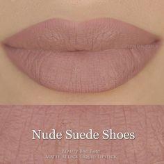 Beauty Bar Baby's Liquid Lipstick Nude Suede Shoes Matte Attack Liquid Lipstick