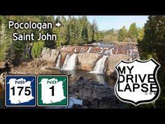 The Drive into Saint John, New Brunswick: Route 1, 175 - YouTube