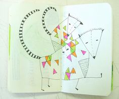 Blog: One Last Sketchbook Party! - Doodlers Anonymous