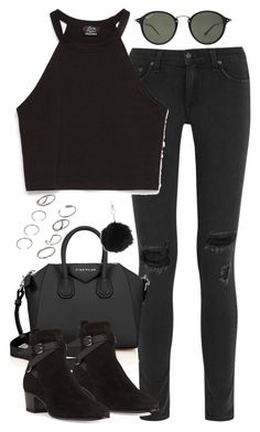 """""""Untitled #4769"""" by eleanorsclosettt ❤ liked on Polyvore featuring rag & bone, Zara, Givenchy, Yves Saint Laurent, Ray-Ban, ASOS and Topshop"""