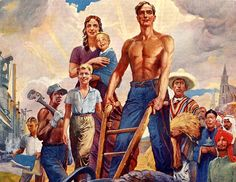 Image result for labor day in US vintage