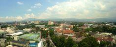 Pemandangan di Kota bandung