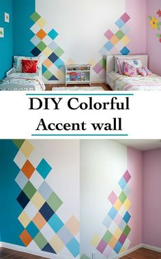 WOW!!! this is so gorgeous! IThe perfect accent wall for any kids room!!