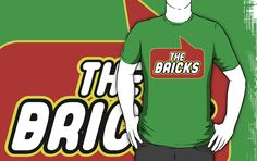 The Bricks T-shirt by Bubble-Tees.com by Bubble-Tees