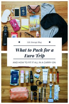 Packing for a Euro trip in just a carry-on? It's possible. These tips and packing list will show you how to pack for Europe in just one carry-on bag.