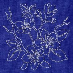 Machine Embroidery Designs at Embroidery Library! - Sashiko
