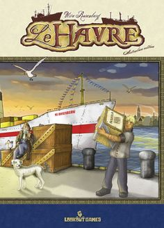 Le Havre  My Rating 80 BGG Ranking 30
