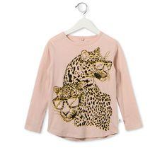 Stella McCartney - Peony Barley leopard print t-shirt - AI15 - f