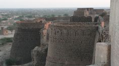 walls of the Derawar Fort