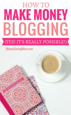 Want to make money blogging? Read this to learn everything you need to know, step by step! Work From Home Moms, Make Money From Home, Way To Make Money, How To Make, Money Saving Mom, Make Money Blogging, Make Money Online, Earn Money, Marketing Program