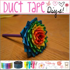 """""""Duct tape diys!"""" by the-tip-of-the-week ❤ liked on Polyvore"""