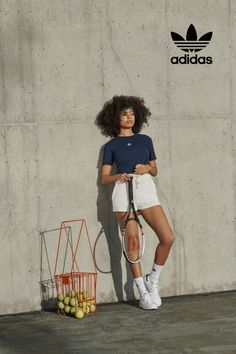 Spring was made for carefree comfort. Simple silhouettes give nostalgic cuts a modern spin. Outfit Goals, Everyday Outfits, Retro Fashion, Adidas Originals, Footwear, Silhouette, Shopping, Clothes, Women