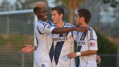 Chandler Hoffman nets a hat trick as Galaxy cruise to victory
