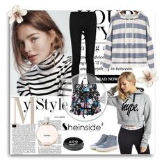 """Sheinside"" by meri-husic ❤ liked on Polyvore featuring Mode, Hype, Chanel, Donna Karan, Renben, Disney und Pussycat"