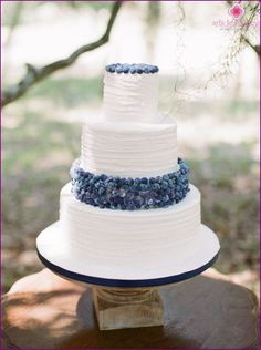 blå bröllopstårta - Sök på Google
