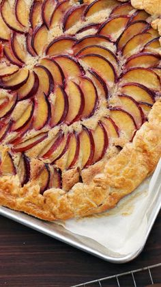 Highlight the tart sweetness of fresh summer plums with this rich and creamy almond filling and crisp pastry crust.