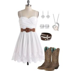 """""""Country Girl dressup"""" by brooklyn18rose on Polyvore"""
