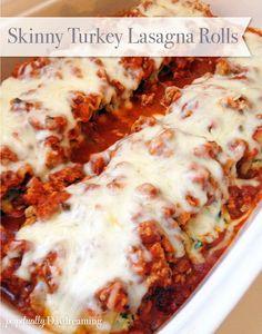 Low fat Lasagna, Turkey Spinach Lasagna