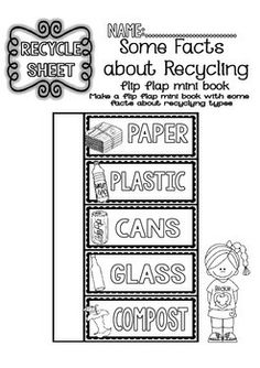 Recycling Readings and Printables (2nd/5th Grade)